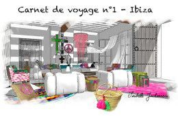 carnet de voyage - Ibiza