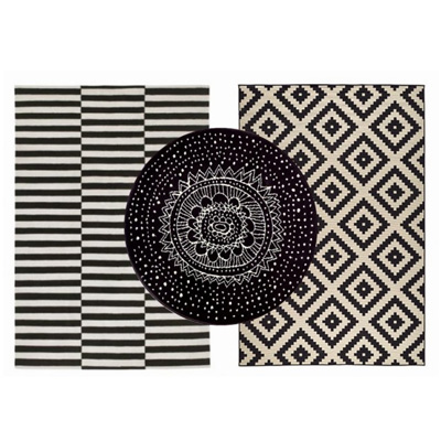 tapis-noir-blanc