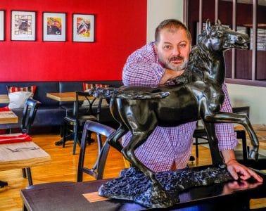 christophe-jeanrot Restaurant le cheval noir Argenton